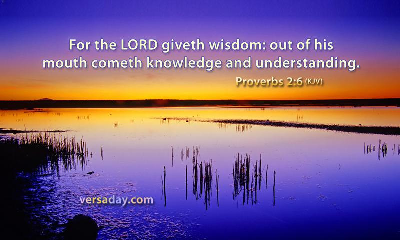 Proverbs 2:6 - Verse for May 19