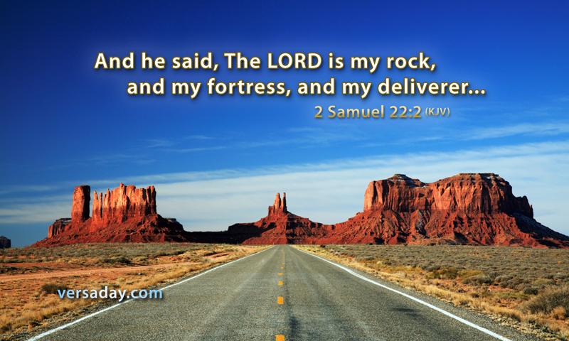 2 Samuel 22 2 Verse For June 19